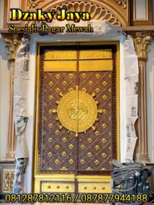 Contoh pintu head model Madinah
